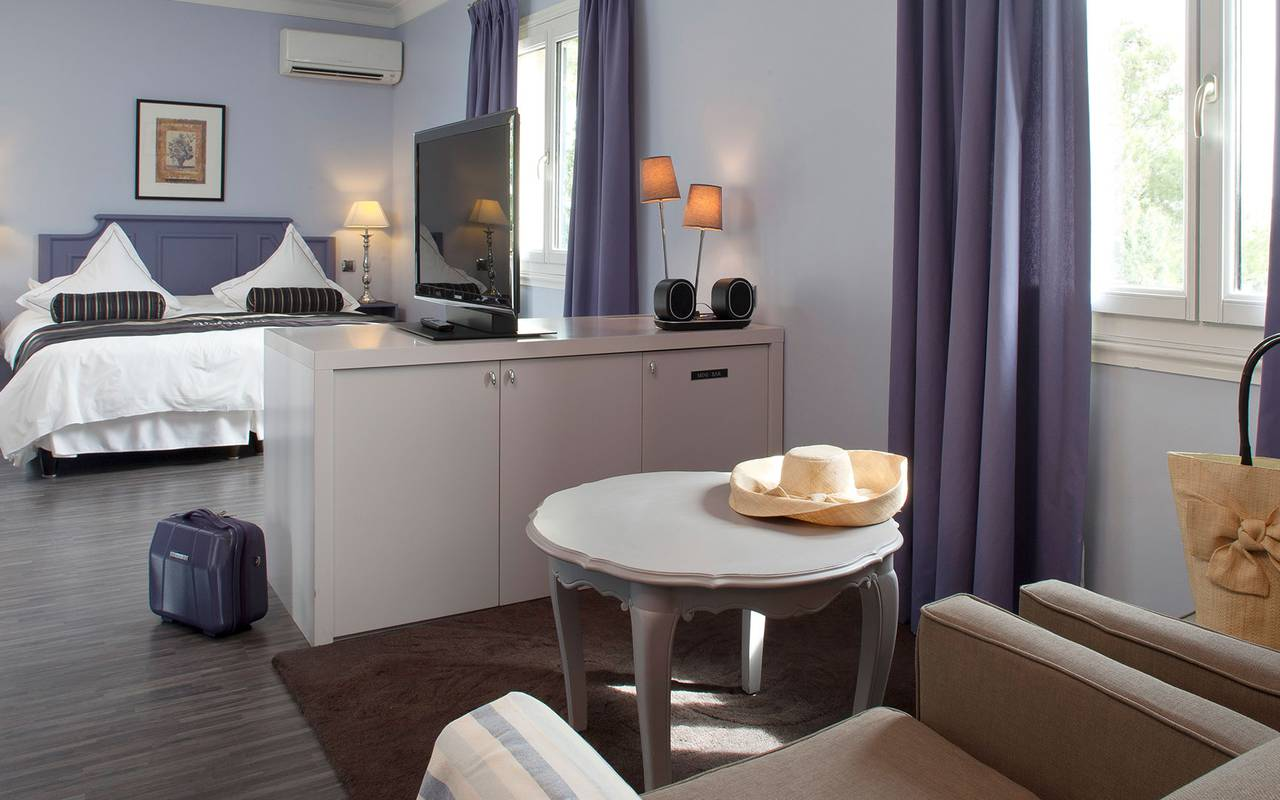 Spacious and calm double room hotel alpilles
